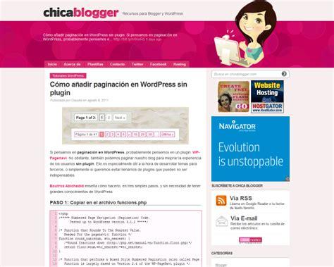 Que hay esta semana en los mejores Blog hechos en español ...