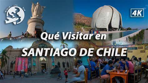 Qué Lugares Visitar en Santiago de Chile   YouTube