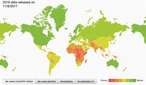 ¿Qué países se adaptarán mejor al cambio climático?
