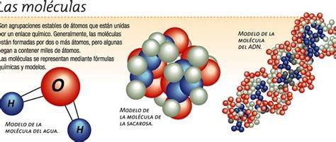 ¿Qué son las moléculas? Icarito