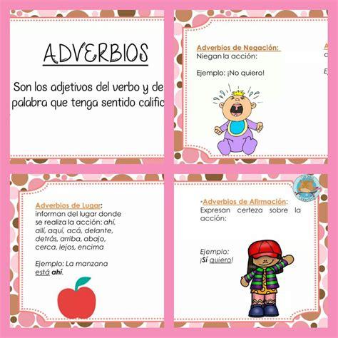 ¿Qué son los adverbios? | Didáctica Educativa