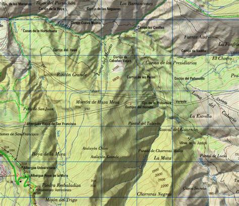 Qué son los mapas topográficos | AristaSur