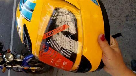 Qué tan seguros son algunos cascos de moto chinos  baratos ...