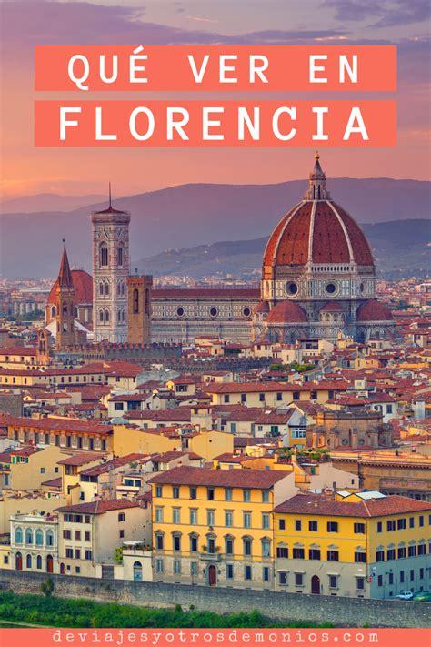 Qué ver en Florencia en 3 días en 2020   Florencia, Viajar ...