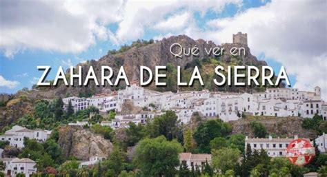 Qué ver en Zahara de la Sierra. El pueblo floral de la ...