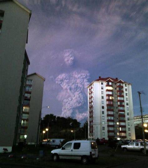 ¿Qué ves entre la columna de humo del volcán Calbuco ...