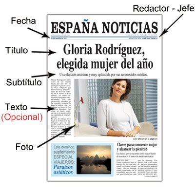 ¡Qué viva el español!: Periódico