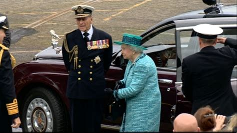 Queen arrives to formally name HMS Queen Elizabeth   ITV News