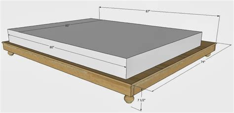 Queen Bed Dimensions In Feet   Roole