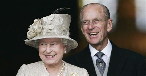 Queen Elizabeth and Prince Philip celebrate their 70th ...