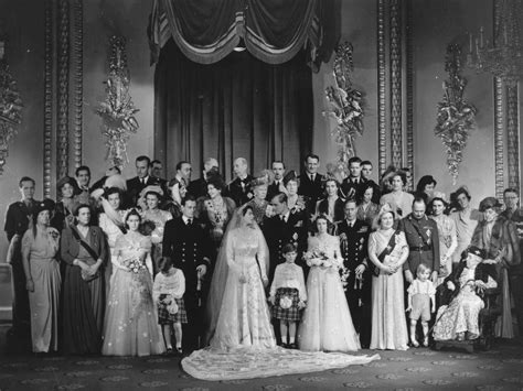 Queen Elizabeth and Prince Philip s 1947 Wedding. Not many ...