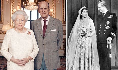 Queen Elizabeth and Prince Philips wedding anniversary ...
