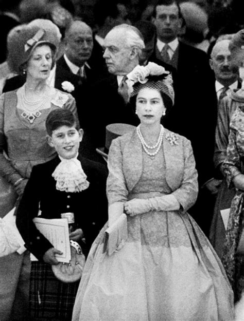Queen Elizabeth II and son Prince Charles   amazing seeing ...