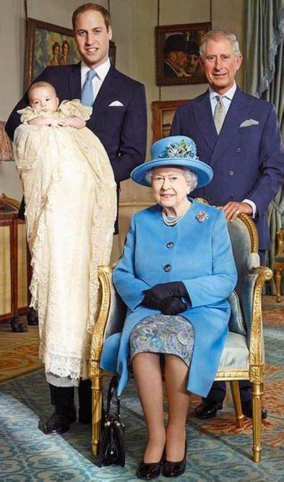 Queen Elizabeth II, Son Charles, Grandson William and ...