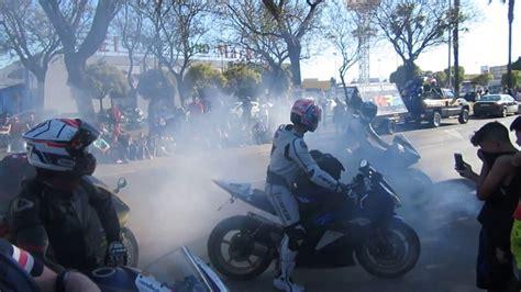 Quemando Rueda por El Motorista Motorada Jueves 1 parte ...