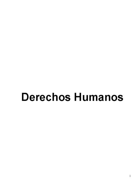 QUESONLOSDERECHOSHUMANOS_000   Derechos humanos   Convenio ...