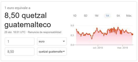 Quetzal guatemalteco. Monedas y billetes en circulación ...
