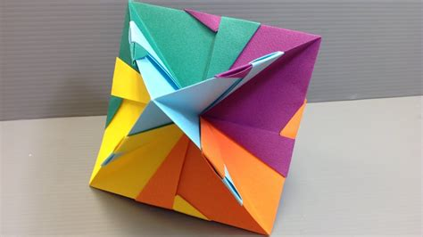 Quick and Easy Modular Kusudama Origami   YouTube