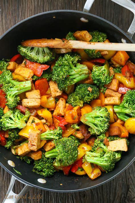 Quick Veggie Tofu Stir fry