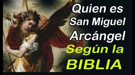 Quien es San Miguel Arcángel según la Biblia   YouTube