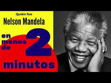 Quien fue Nelson Mandela   YouTube