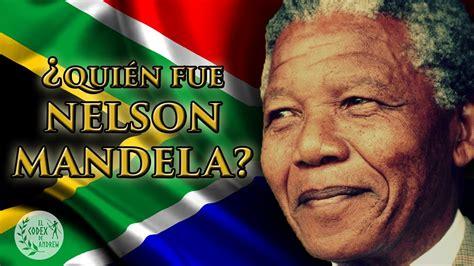 ¿Quién fue Nelson Mandela? | Biografía completa   YouTube