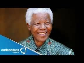 ¿Quién fue Nelson Mandela? / Muere Nelson Mandela   YouTube