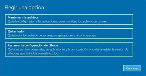 ¿Quieres hacer un hard reset a Windows 10? Te decimos cómo ...