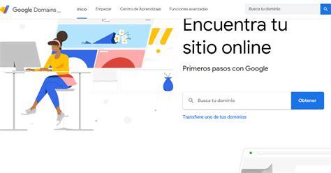 Quiero hacer una página web: Dominios de Google, la mejor ...