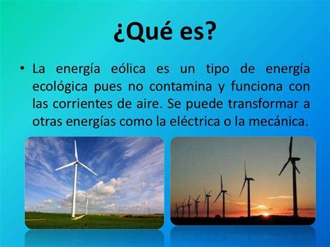 Quimica energia eolica