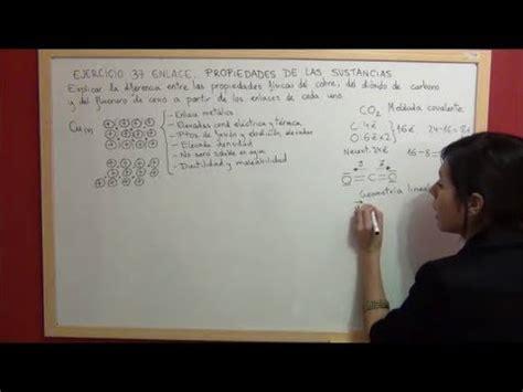 QUIMICA Enlace Ejercicio 37 Propiedades del cobre, el ...