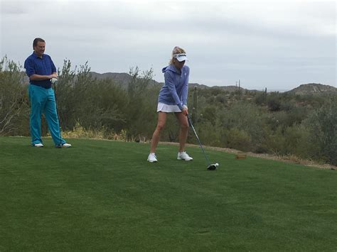 Quintero Golf Club   18 Holes with Natalie Gulbis and ...