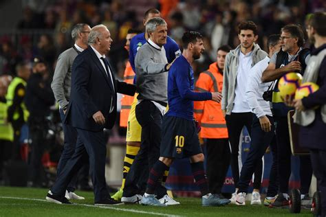 Quique Setien admits he will have to rest Lionel Messi at ...