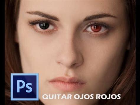 Quitar ojos rojos de una imagen con Photoshop CS6   YouTube