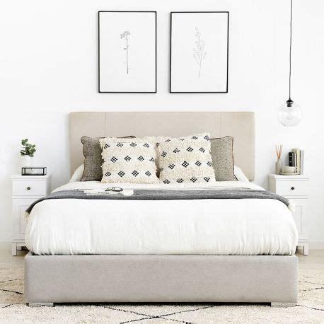 Quo aro de cama tapizado para dormitorio   Kenay Home
