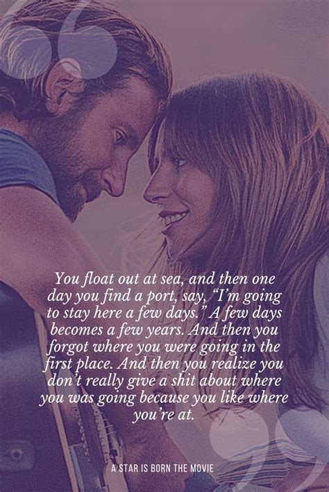 Quote of  A Star is Born  with Bradley Cooper and Lady ...