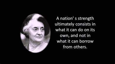 Quotes of Indira Gandhi on motivation and rights video ...