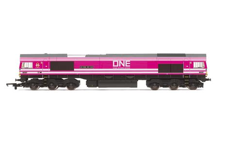 R3923   Ocean Network Express Class 66, 66587  As One, We Can