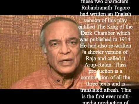Rabindranath Tagore s play RAJA in English.. a trailer ...