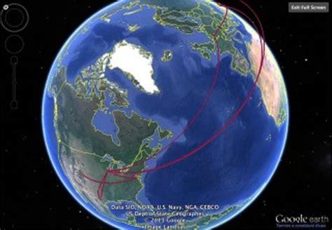 Raccontare i propri viaggi? Si puo  anche con Google Earth ...