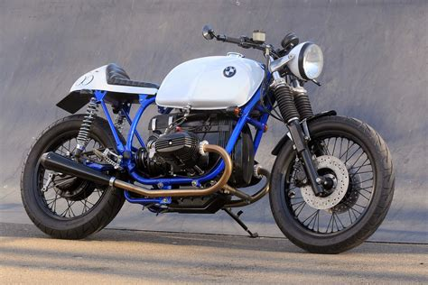 Racing Cafè: BMW  Cafe Racer Azure  by Kevils Speed Shop