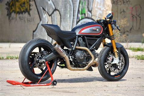 Racing Cafè: Ducati Scrambler by WalzWerk Racing