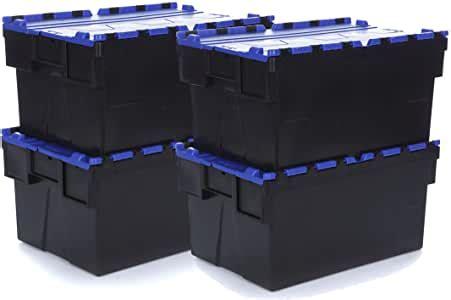 Racking Solutions   Caja de almacenaje de plástico para ...