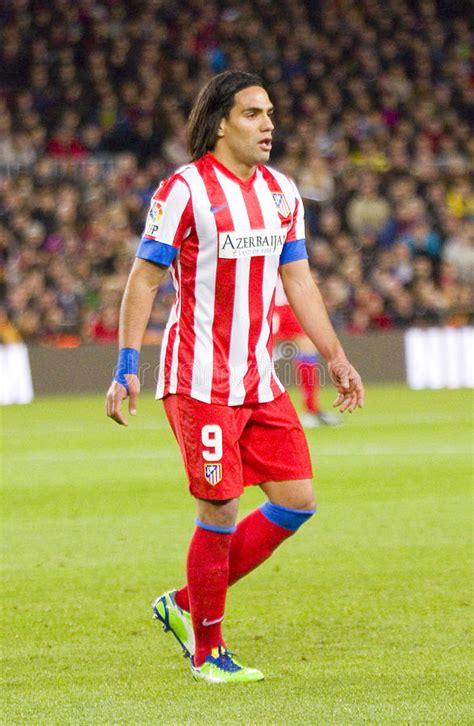Radamel Falcao Of Atletico Madrid Editorial Photo   Image ...