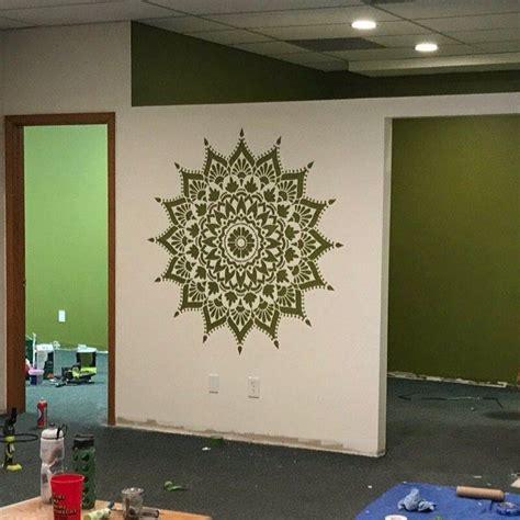 Radiance Mandala Stencil For Walls MANDALA WALL STENCIL ...
