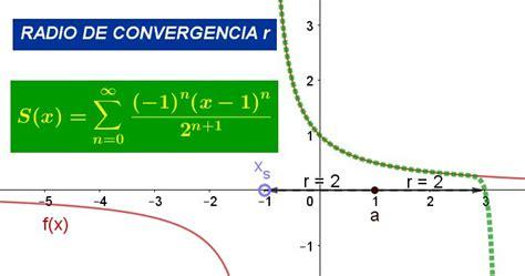 Radio de convergencia: definición, ejemplos y ejercicios ...