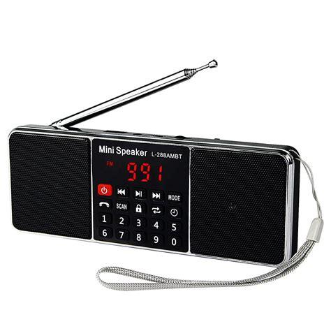 Radio Estereo Portatil AM FM MP3 Bateria Recargable Para ...