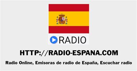 Radio Online, Emisoras de radio de España, Escuchar radio