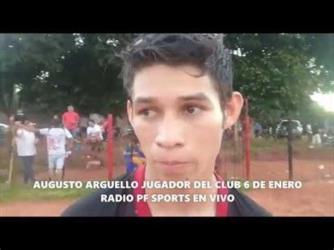RADIO PF SPORTS EN VIVO AUGUSTO ARGUELLO JUGADOR DEL CLUB ...