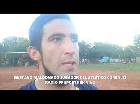 RADIO PF SPORTS EN VIVO GUSTAVO MALDONADO JUGADOR DEL CLUB ...